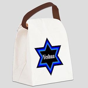 Yeshua Star of David Canvas Lunch Bag