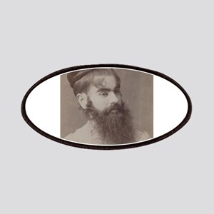 Victorian Circus Sideshow Freak Bearded Lady Patch