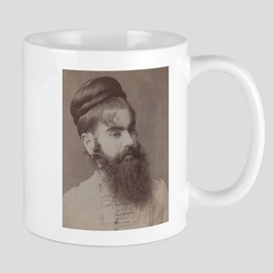 Victorian Circus Sideshow Freak Bearded Lady Mugs