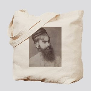 Victorian Circus Sideshow Freak Bearded Lady Tote
