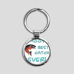 bestcatchever Round Keychain