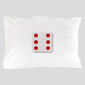 6 Dice Roll Pillow Case