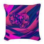 Creating Worlds Abstract Woven Throw Pillow