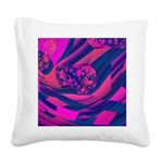 Creating Worlds Square Canvas Pillow