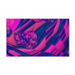Creating Worlds Abstract Fractal 20x12 Wall Decal