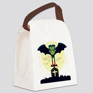 Dead Night Canvas Lunch Bag
