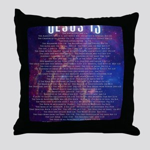 Jesus IS... Throw Pillow