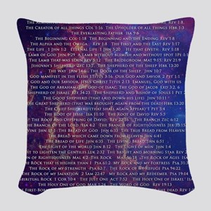 Jesus IS... Woven Throw Pillow
