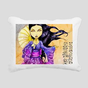 rain11x17 posters Rectangular Canvas Pillow