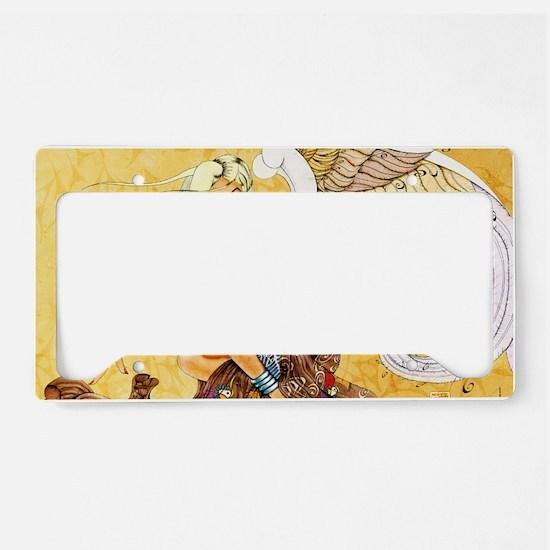 blondeangel11x17 License Plate Holder