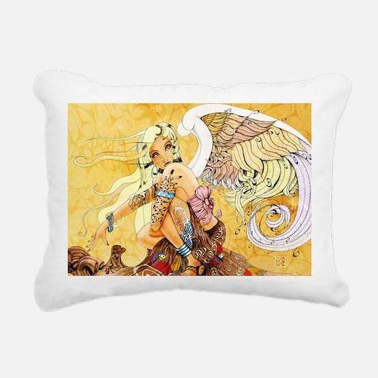 blondeangel11x17 Rectangular Canvas Pillow
