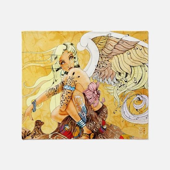 blondeangel11x17 Throw Blanket