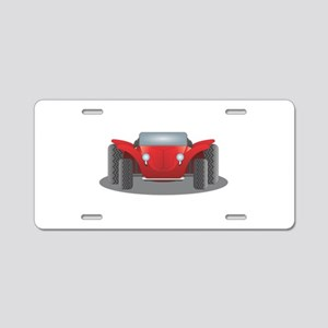 Dune Buggy Aluminum License Plate