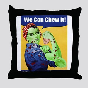 Zombie Rosie the Riveter We Can Chew It Throw Pill