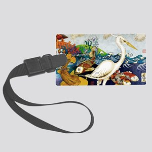 winds11x17 posters Large Luggage Tag