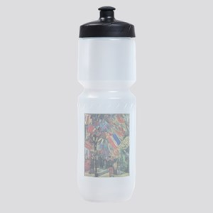 Van Gogh 14 July In Paris Sports Bottle