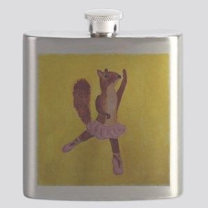 Ballet Squirrell Flask