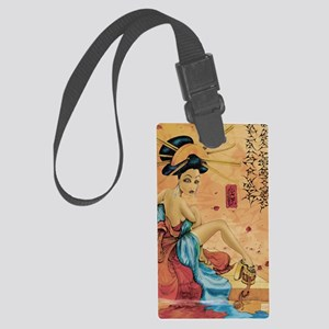 reflection11x17 posters Large Luggage Tag