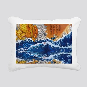 samuraimonk11x17 posters Rectangular Canvas Pillow