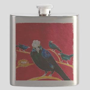 Grackle Mafia Flask