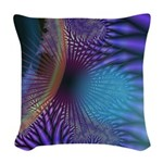 Looking Inward Mystery Woven Throw Pillow