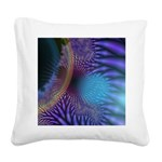 Looking Inward Mystery Square Canvas Pillow