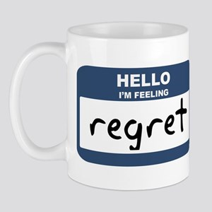 Feeling regret Mug