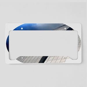 RI Oval-1 License Plate Holder