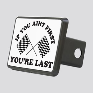 If you aint first youre la Rectangular Hitch Cover