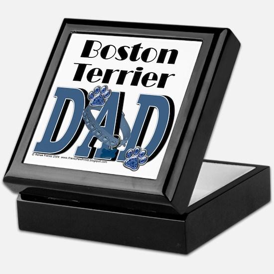 BostonTerrierDad Keepsake Box