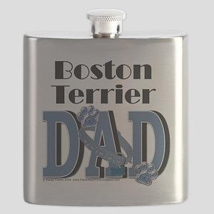 BostonTerrierDad Flask