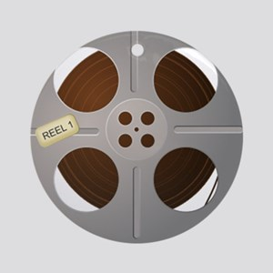 Movie Reel Ornament (Round)