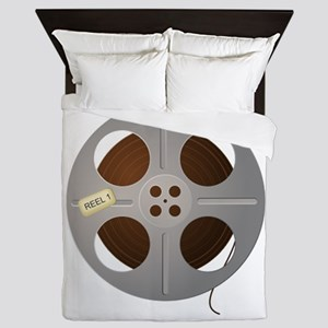 Movie Reel Queen Duvet