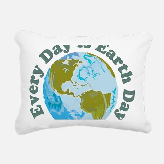 Earth_Day Rectangular Canvas Pillow