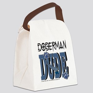 DobermanDude Canvas Lunch Bag