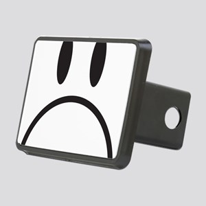 happy face Rectangular Hitch Cover