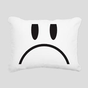 happy face Rectangular Canvas Pillow
