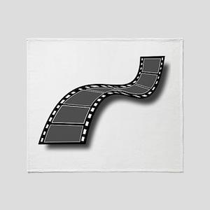 Movie Filmstrip Throw Blanket