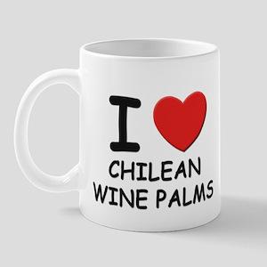 I love chilean wine palms Mug