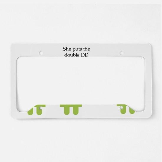 Vulgar License Plate Holder