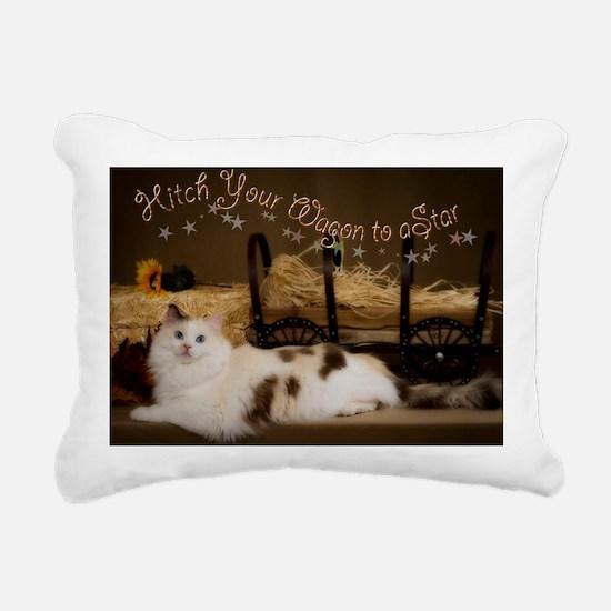 Hitch Your Wagon Rectangular Canvas Pillow