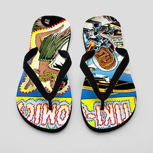 Weird Tiki Comics Flip Flops