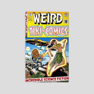 Weird Tiki Comics 3'x5' Area Rug