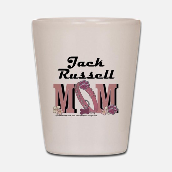 JackRussellMom Shot Glass