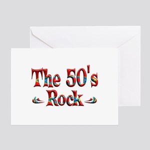 The 50s Rock Greeting Card