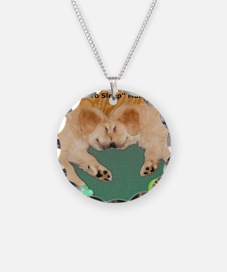 Golden Retriever Puppies, Ma Necklace