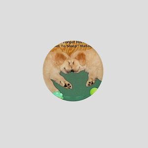 Golden Retriever Puppies, Mahatma Gand Mini Button