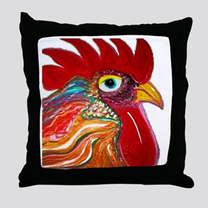 henpecked Throw Pillow