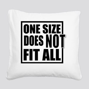 ONE SIZE HR Square Canvas Pillow