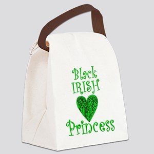 2-black_irish_princess_1 Canvas Lunch Bag